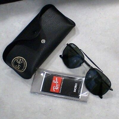 Lunettes Solaire Ray Ban THE MARSHAL - RB3648 - NOIR - POLARIZED - (Ray Ban Sunglasses Police)