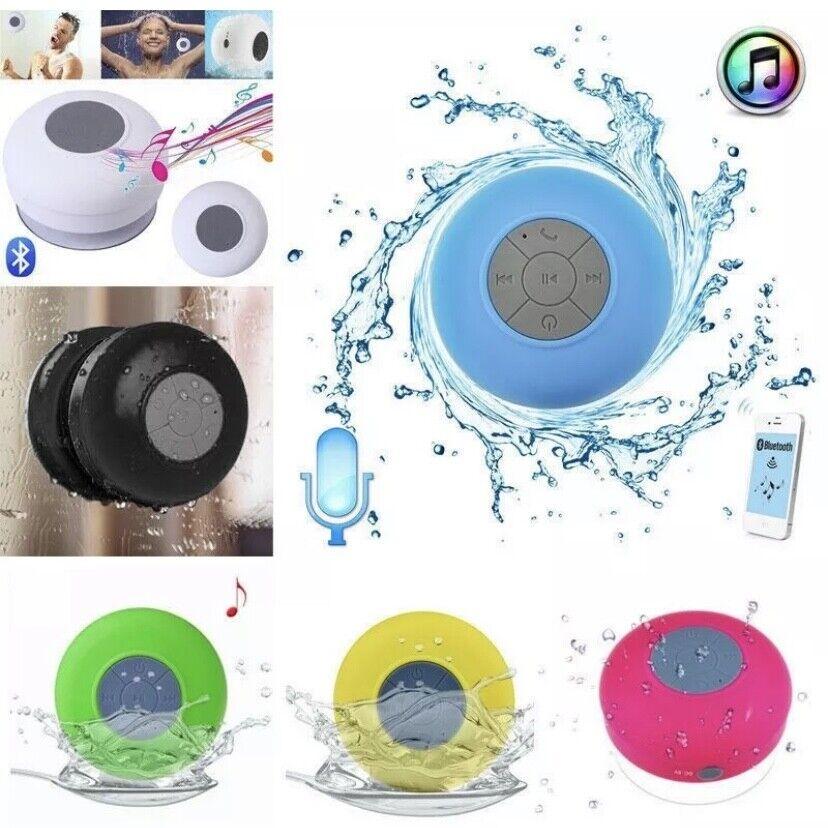 Waterproof Bluetooth Wireless Shower Speaker Handsfree Music
