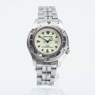 ALBA SEIKO AQUA GEAR V782-0270 Watch JAPAN