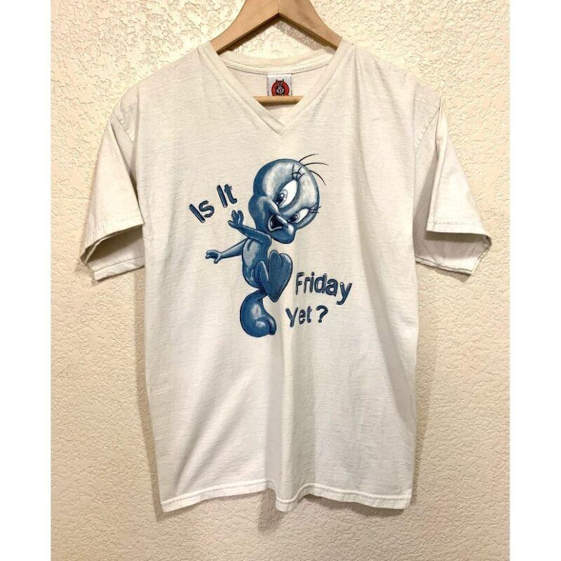 Looney Tunes Vintage 1997 Tweety Bird Shirt Women