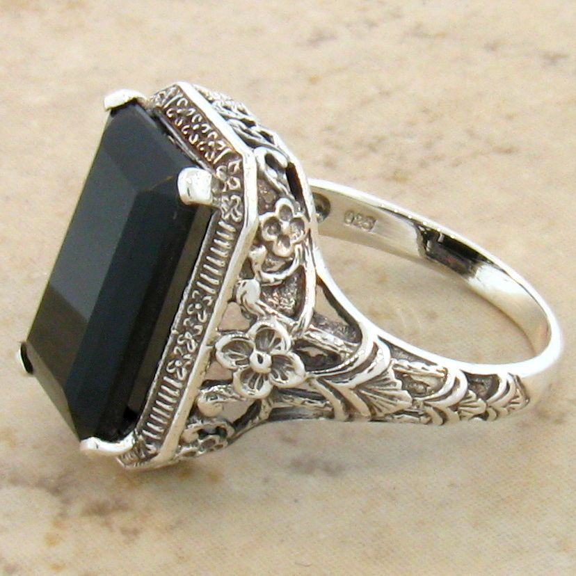 Vintage onyx rings opinion you
