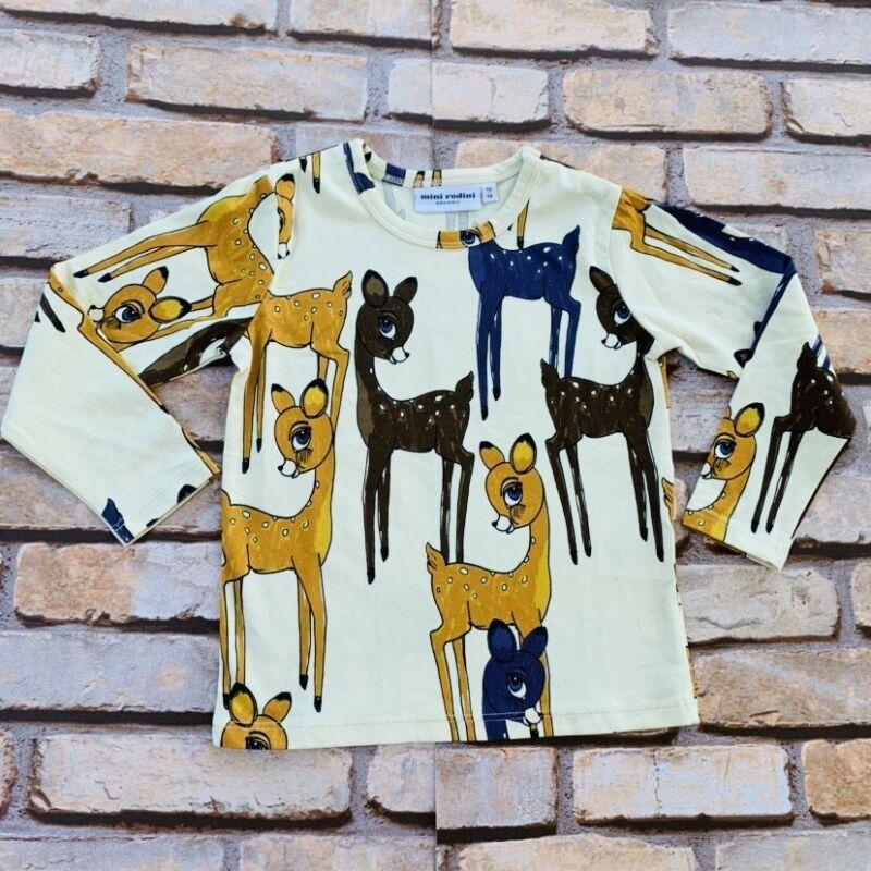 Mini Rodini Roe Deer LS T-Shirt, 104-110 Cm