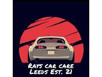 MOBILE CAR CLEANING + VALETING **Leeds**Bradford**Wakefield**York**Harrogate**Car Wash**