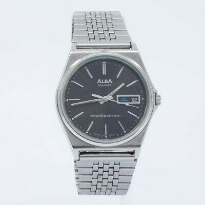 SEIKO ALBA QUARTZ V743-8A10 MENS WATCH JDM