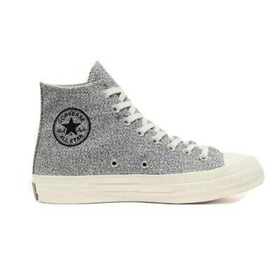 Converse Chuck Taylor All-Star Renew Cotton Chuck Hi High Tops Gray Sneakers...