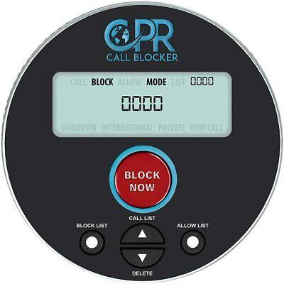CPR V10000 Call Blocker for Landline Phones, Block 10000+ Robocalls & Spam Calls