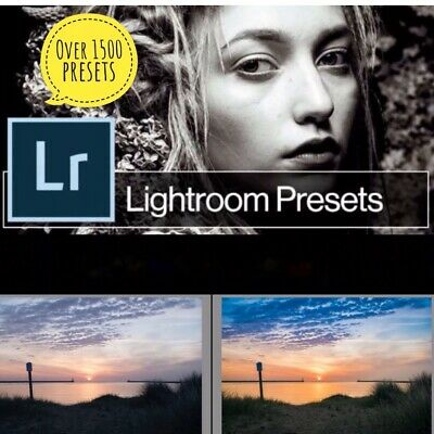 1500 Photo Presets for Lightroom - Fast Delivery - Get Yours Today! 1000+ Sold!!