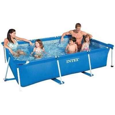 Intex 220x150x60cm Rectangular Frame Pool   28270NP   Aufstellpool   NEU