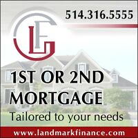 1ST OR 2ND MORTGAGE Tailored to your needs
