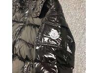 Black moncler coat
