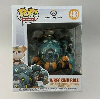 Funko POP! Games Overwatch Wrecking Ball #488
