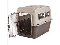Airplane Dog Crate - Medium - Like New (used once)