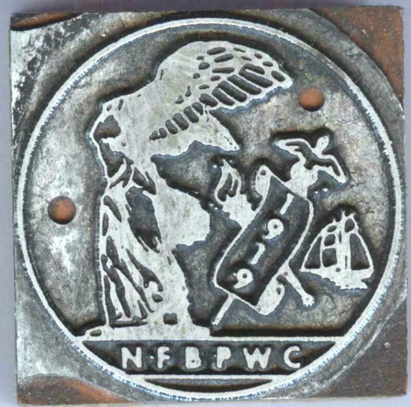1950 women national federation business Professional Women Clubs printer