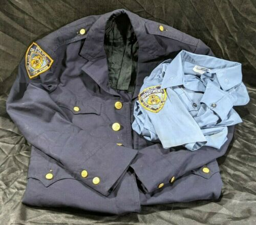 Vintage NYPD Collectible City of New York Police Shirt & Jacket  Coat