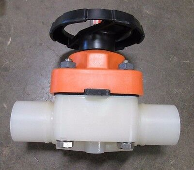 New George Fischer Gf Sygef Wnf Bcf-hp Zero Static Diaphragm Valve 175.315.236