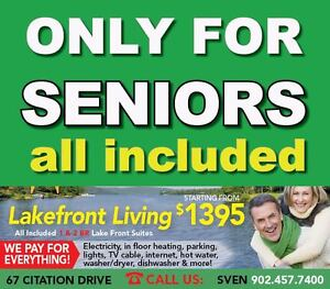 Mature TENANTS WANTED 55 or older! NEW 23 unit building
