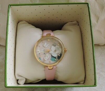 Kate Spade New York Botanical Butterfly Dimensional Holland Watch NIB