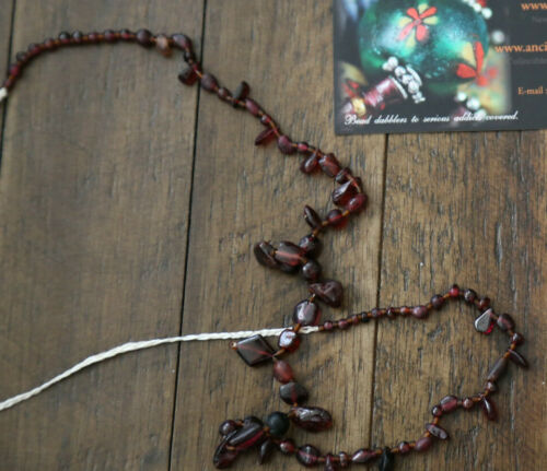 Ancient Garnet Beads 1000 years old or more