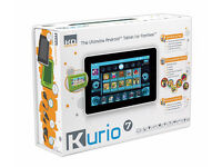 Kurio 7 Tablet With Pink Silicone Cover