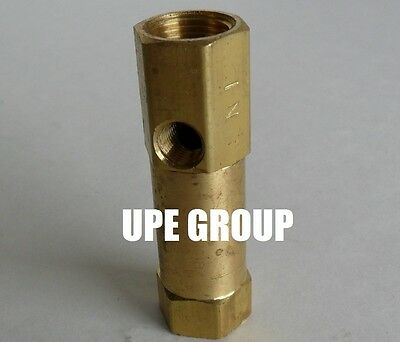 Brass In Line Check Valve Compressed Air Compressor Vertical Or Horizontal 38