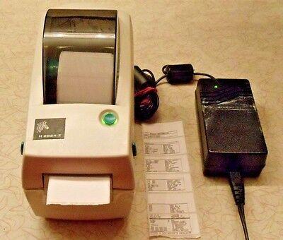 Zebra LP2824Z Label Thermal Printer, Power Supply Manual on -