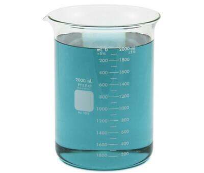 Pyrex 1000 Beaker 2000ml 2l Corning
