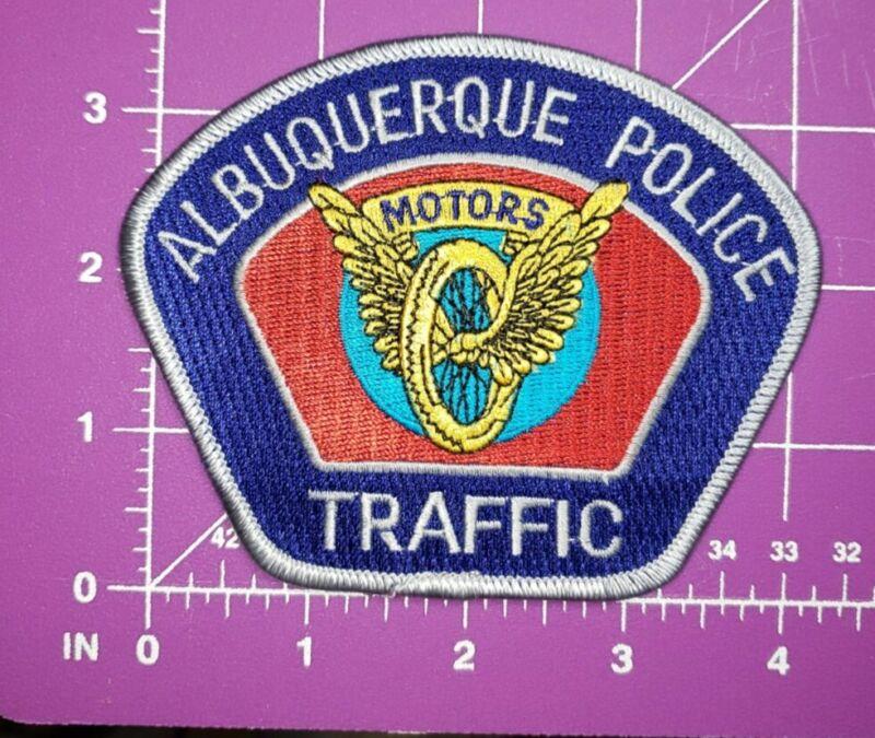 Albuquerque New mexico POLICE Traffic shoulder patch