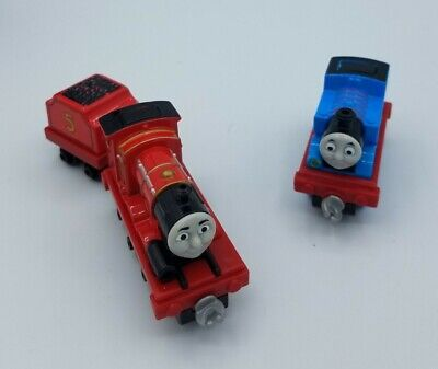 Thomas & Friends Adventure Toy Trains with Clips (Thomas & James)