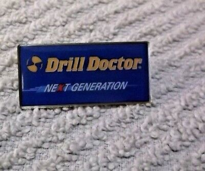 Drill Doctor Next Generation Lapel Pin