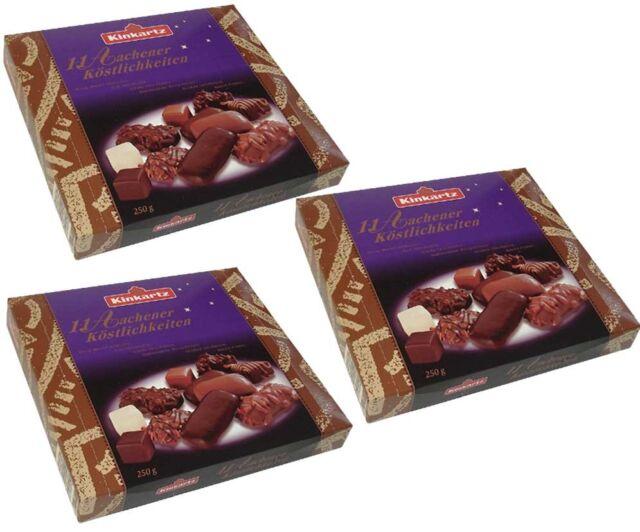 Kinkartz 3x 11 Aachener Köstlichkeiten 250g Lebkuchenmischung Gingerbread 750g