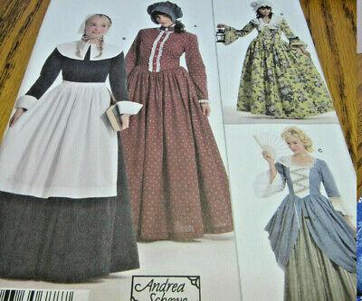 Halloween Costume Pattern Pioneer Quaker Simplicity 3723 Womens 6,8,10,12 NWT