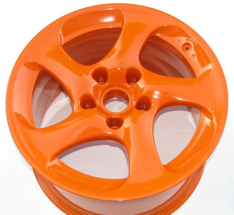High Gloss Orange Powder Coating Paint - (5 LBS) FREE SHIPPING!
