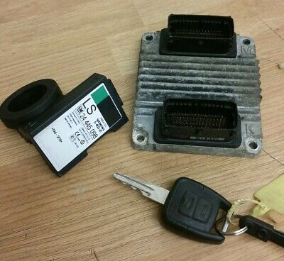 VAUXHALL OPEL ASTRA ZAFIRA 1.6 8v  ECU KIT DNHM 12214860 Plug And Play AUTOMATIC