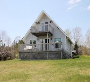 Cottage for rent on Lochaber Lake, Antigonish County