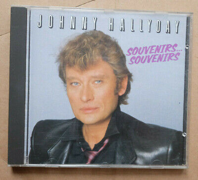 "1985 ! CD "" Souvenirs Souvenirs "" 18 titres Philips GERMANY - rare!! Hallyday"