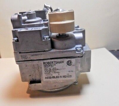 Robertshaw 7000bmvr Gas Valve For Hvac Heater Wall Thermostat Actuated 12psi