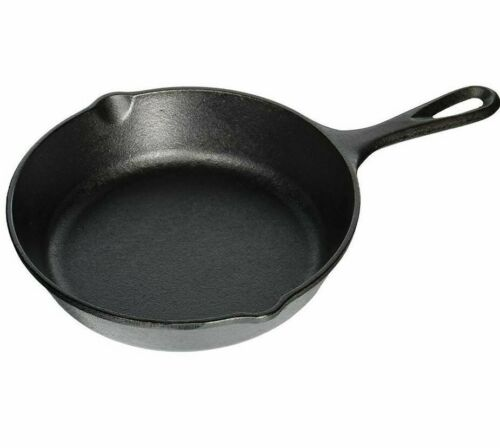 Lodge Pre-Seasoned 8 inch Cast Iron Skillet with Assist Handle, Model L5SK3