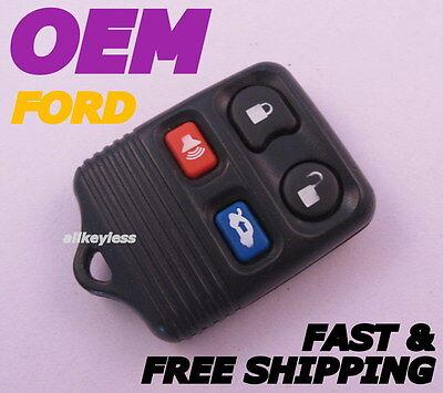 Genuine OEM FORD LINCOLN MERCURY keyless entry remote key fob transmitter