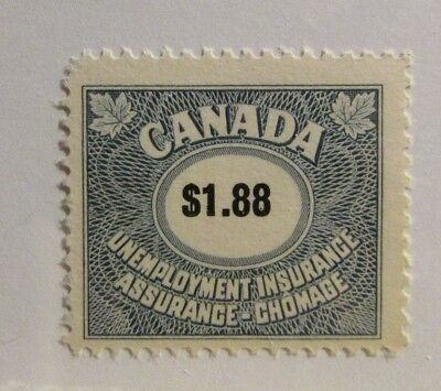 Canada Bob  Fu82   Mnh   1 88 Unemployment Insurance Stamp