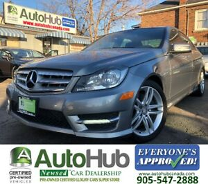 2013 Mercedes-Benz C-Class C300-LEATHER-4MATIC-SUNROOF-NAVIGATIO