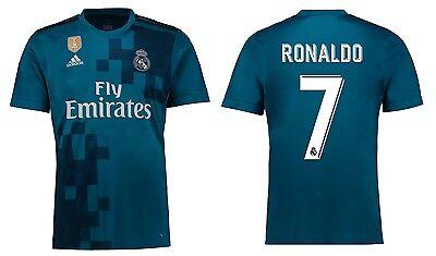 Trikot Adidas Real Madrid 2017-2018 Third WC - Ronaldo 7 [128-XXL] CR7  (Real Madrid Wc)
