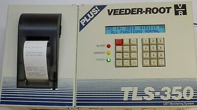 Upgraded Veeder-root Tls-350 Plus Tls350 Console With Printer 4-probe Module