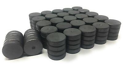 Nexlevl Extreme Strength Small Ceramic Ferrite Magnets 18mm - 110 Total