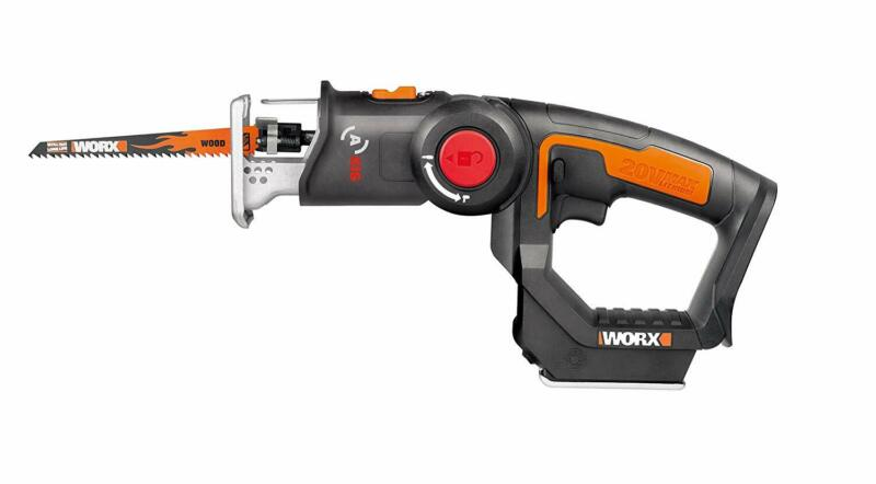 WORX WX550L.9 20V AXIS 2-in-1 Reciprocating Saw and Jigsaw w