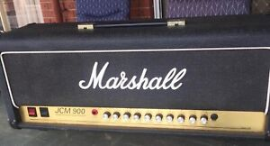Marshall JCM 900 head and cab PROPS