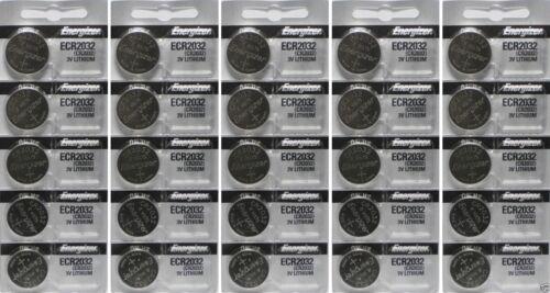 Genuine Fresh Energizer ECR2032 Lithium 3V Batteries - 30 pack