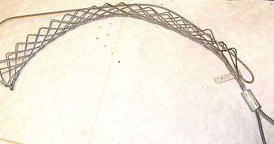 Woodhead 14 X 1-14 Offset Eye Split Lace Steel Wire Pulling Grip 36144