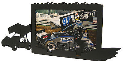 Sprint Car Race Picture Frame 5x7 H Racing