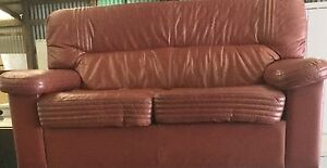 Two Seater Leather Look lounge Lambton Newcastle Area Preview