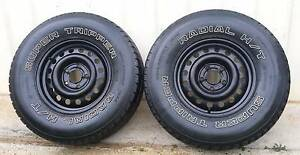"""15"""" HOLDEN TRAILER OFFROAD WHEELS AND TYRES 30X9.5/R15 5X120 hub Kallangur Pine Rivers Area Preview"""